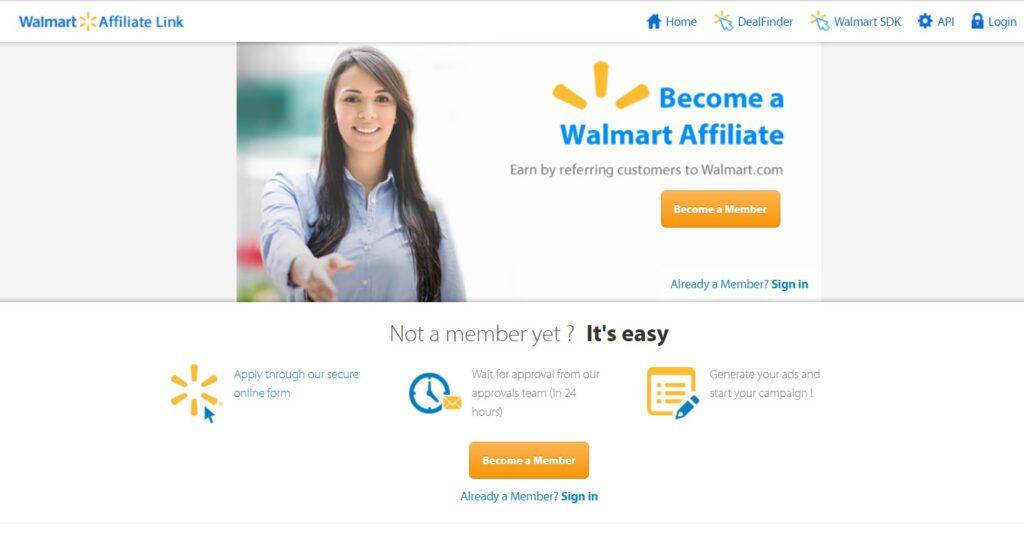 Walmart Affiliates Program